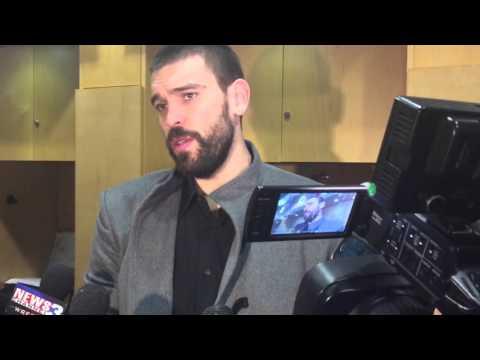 Memphis Grizzlies C Marc Gasol Postgame Interview (01-18-16)