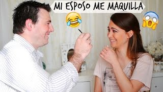 TAG: MI (EX) ESPOSO ME MAQUILLA ♥ MY HUSBAND DOES MY MAKEUP | Lizy P