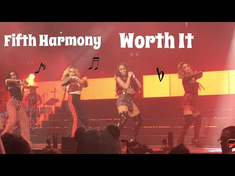 Fifth Harmony - Worth It LIVE @ Jingle Bash 2017