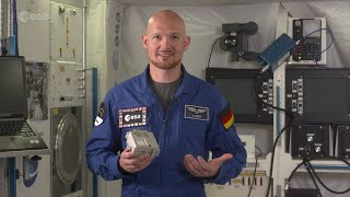ESA astronaut Alexander Gerst announces the selection of Mission Space Lab codes for the ISS!