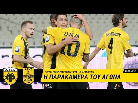 AEK F.C. - Ποδοσφαιρική παράσταση χωρίς θεατές