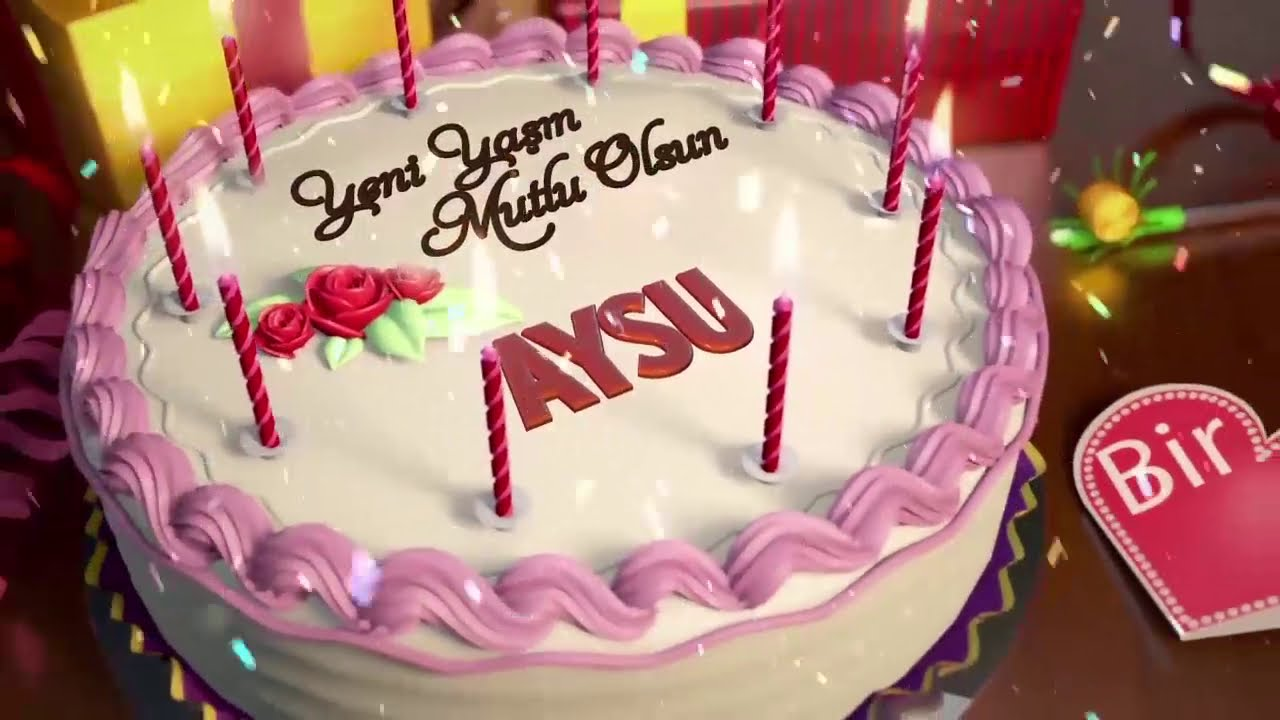 İyi ki doğdun AYSU - İsme Özel Doğum Günü Şarkısı