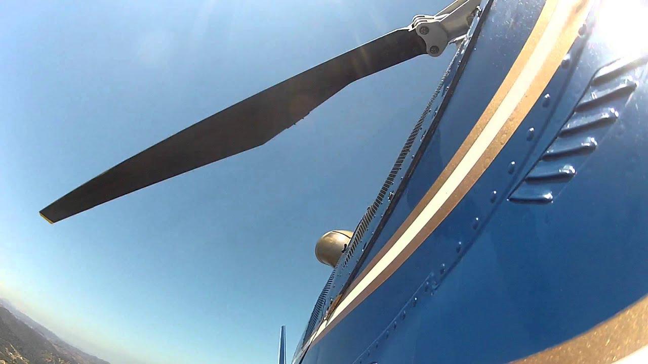 2 Agusta A109 MK II Rolls Royce Gas Turbine Engine Start