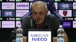 Cosenza-trapani 2-2, Mister Castori