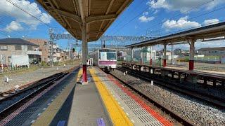 東京メトロ8000系 8017f 東武動物公園駅発車