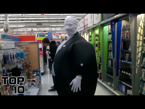 Top 10 Scary People Seen In A Walmart