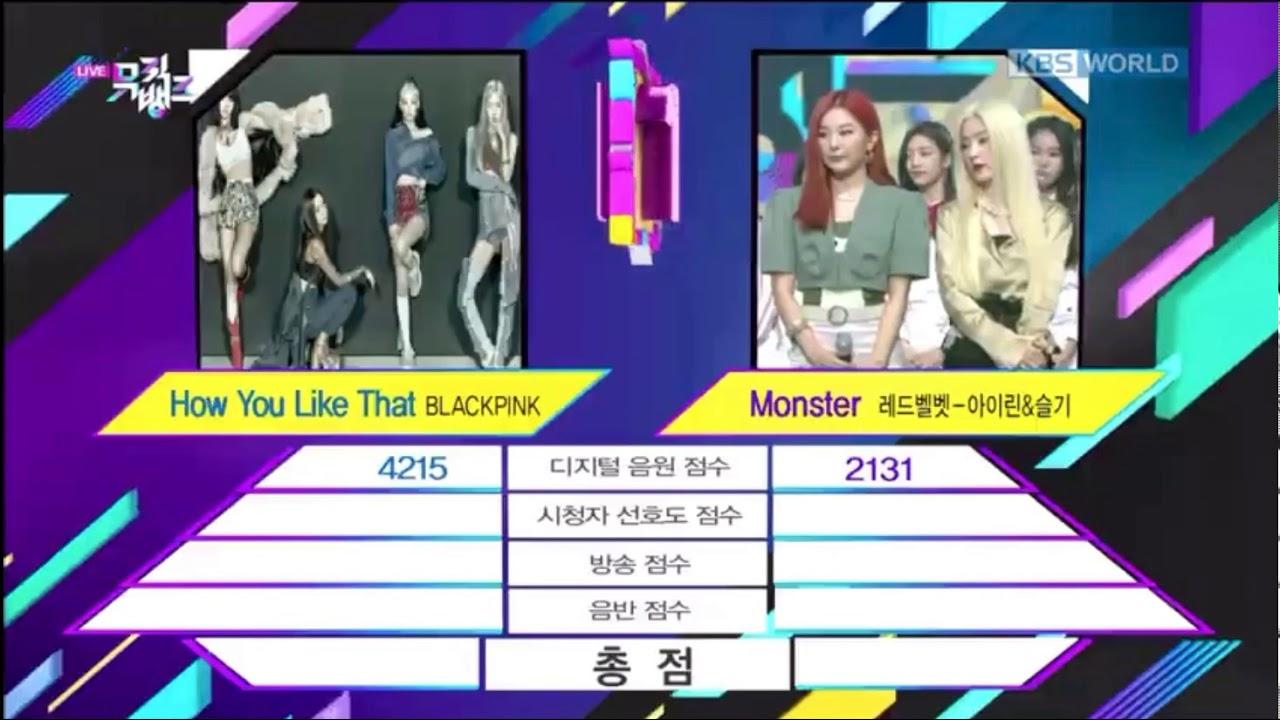 170720 Red Velvet - Irene & Seulgi - Monster 1st Win