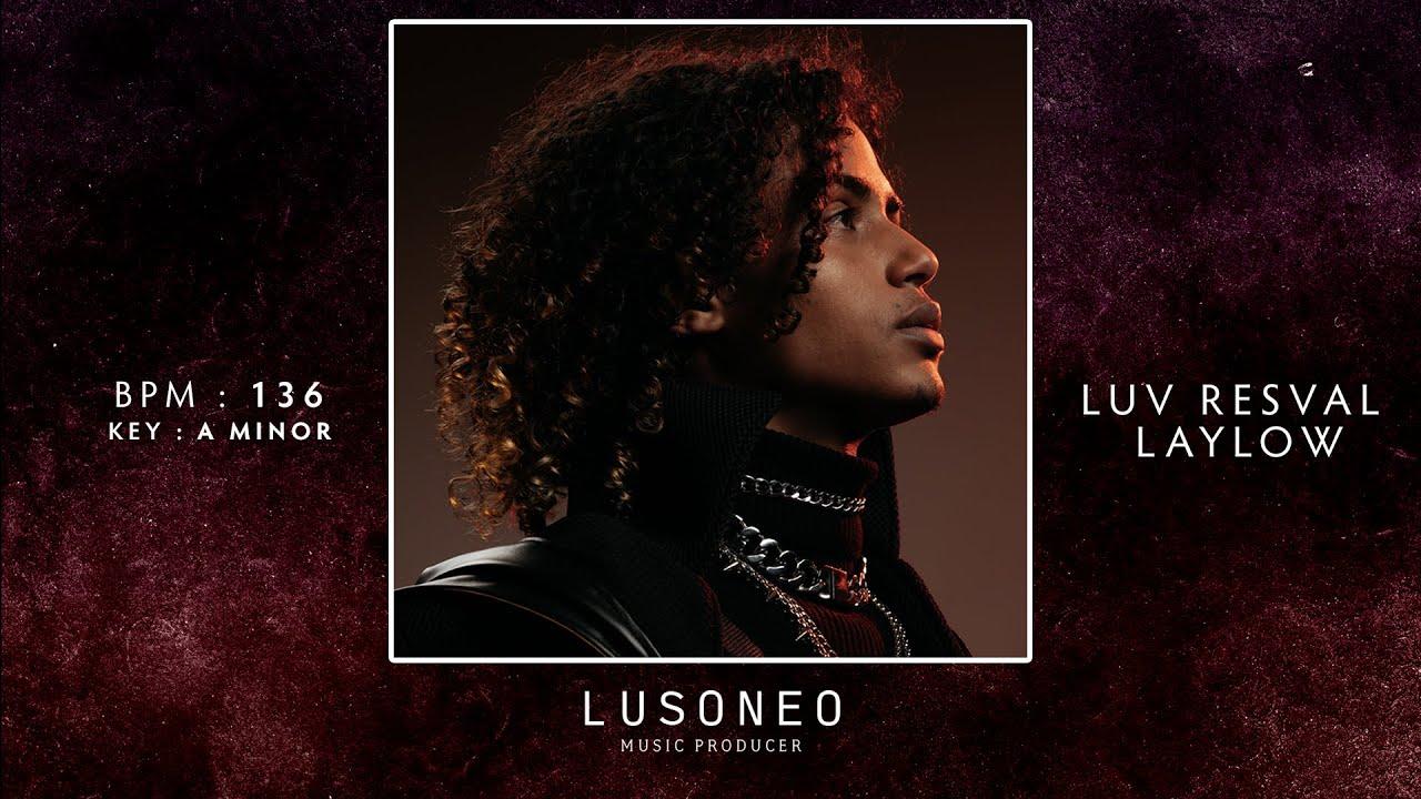 "Luv Resval x Laylow x Josman Type Beat ""Danger""   Instru Rap Guitar Emotion (prod. Lusoneo)"