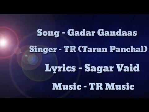 GADAR GANDAAS || SAGAR VAID || TARUN PANCHAL || TR MUSIC || HARYANVI SONG ||