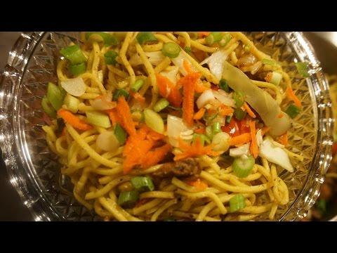 Chicken Chow Mein (Guyanese Style)