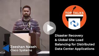 Tutorial: Disaster Recovery & Global Site Load Balancing for Distributed Data Center Applications