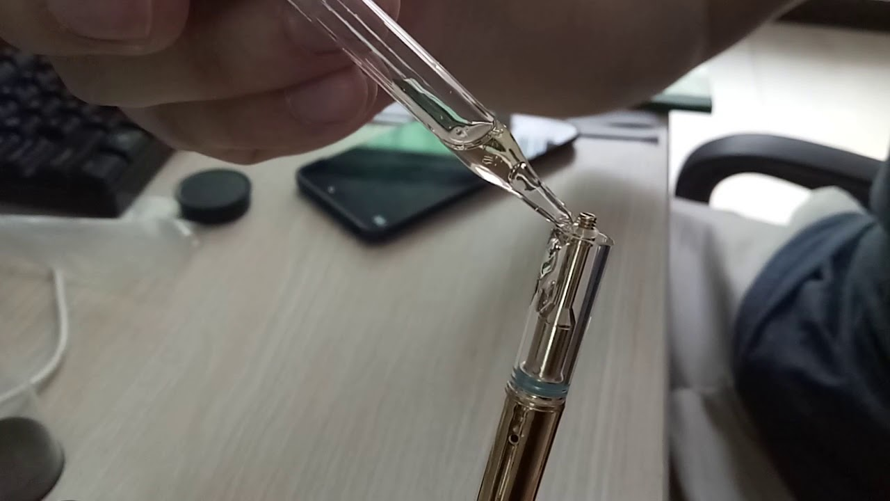 Filling oil of D1 vape pen