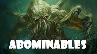 Los monstruos mas aterradores del oceano