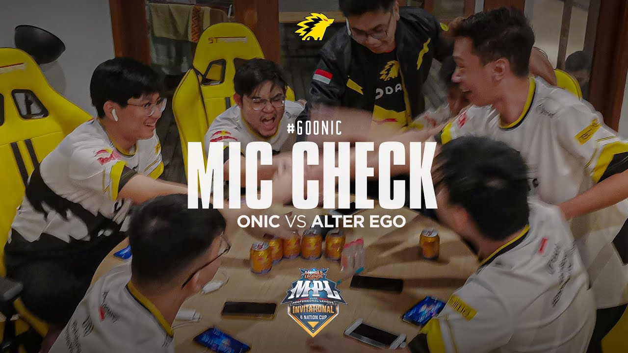 ONIC VS ALTER EGO - MIC CHECK MPL INVITATION PLAYOFF
