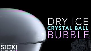 Dry Ice Crystal Ball Bubble - Sick Science! #112