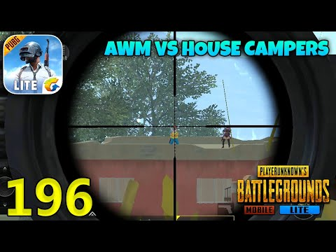 AWM VS House Campers   PUBG Mobile Lite Duo Squad Gameplay