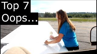 Top 7 Mistakes you'll make as a pilot.