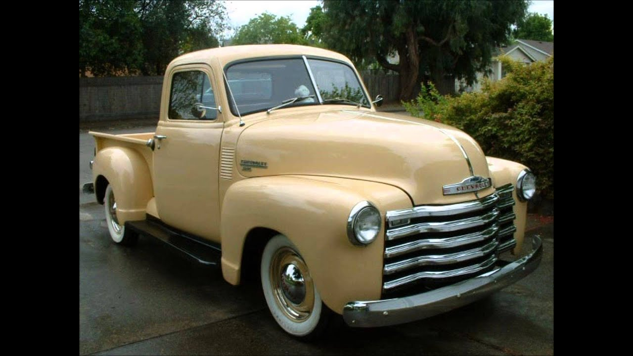 (1947-1954) Chevy Pickup tribute - YouTube