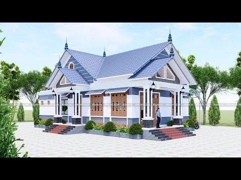 Mẫu Nhà Cấp 4 Đẹp 180m2 Với 3 Phòng Ngủ Tại Thọ Xuân Thanh Hóa
