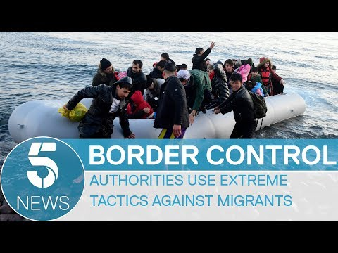 Migrant Crisis: Greek Authorities Use Extreme Tactics To Stop Refugees On Turkish Border   5 News