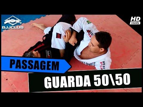 Jiu-Jitsu - Passagem da Guarda 50\50 - Raul Faconti - BJJCLUB