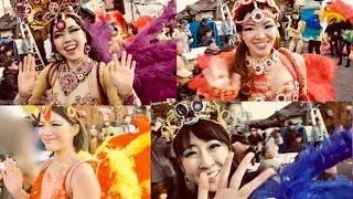 季節外れのサンバパレード♪ 東京都青梅市で開催されたアートフェスティ...