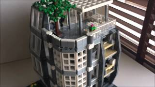 Architect's Office LEGO Modular MOC Review