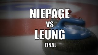 2019 ONT U18 Champs FINAL - Niepage vs Leung