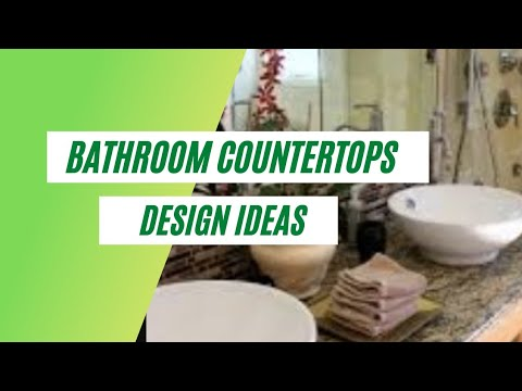 Bathroom countertops design decorating ideas