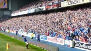 Rangers Lording It Over Celtic 3 - 2 25/03/2012