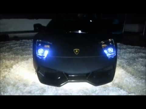 Battery operated car modified for kids Lamborghini-modifiye oyuncak akülü araba www.henes.com.tr