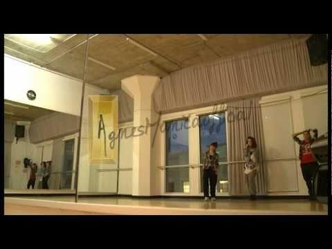 Agnes' Dance Rehearsal In LA With Tricia Miranda Day 1