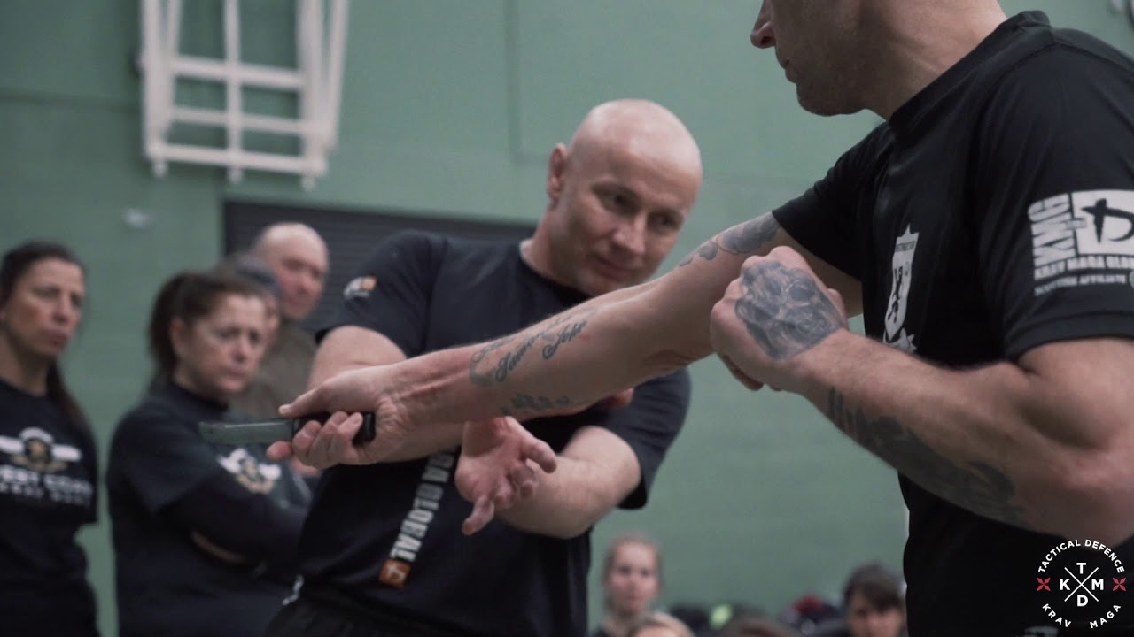 Ground and Pound - Krav Maga  seminar with Jacek Walczak.