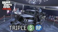 GTA Online Event Week- Triple Money Bonuses & Discounts