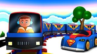 Superman City - Chu Chu Cartoon Trains for Kids by Toy Factory