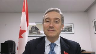 Foreign affairs minister françois-philippe champagne thinks a biden administration is an opportunity to strengthen the 'special relationship' between canada ...