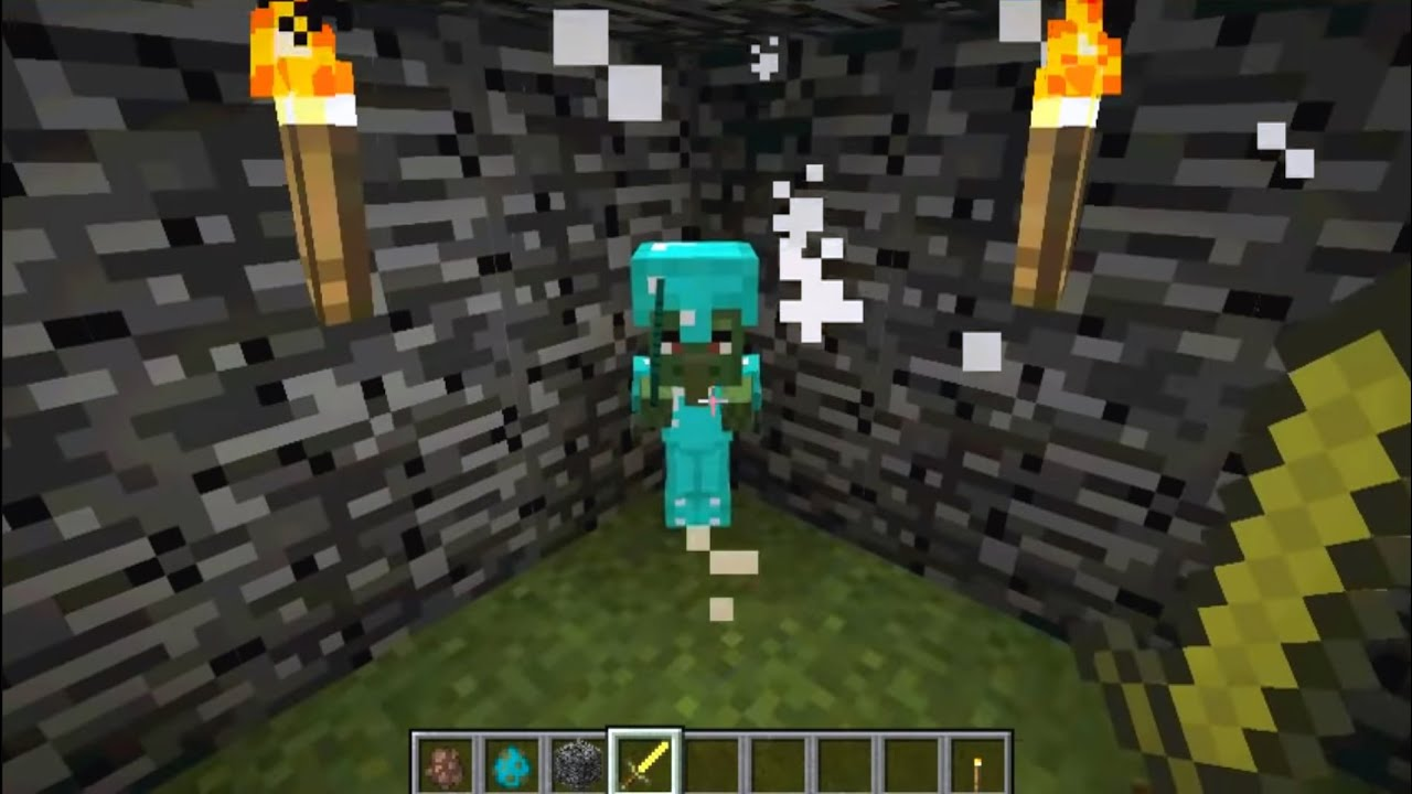 Minecraft How To Spawn And Put Armor On A Baby Zombie Villager