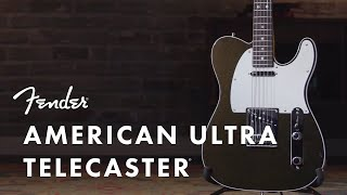 American Ultra Telecaster | American Ultra Series | Fender