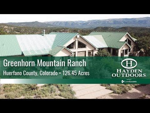 Colorado Mountain Ranch For Sale
