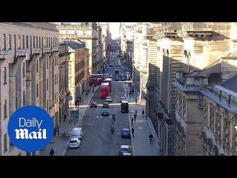 Film Crew Shooting The Fast And Furious Spin-off In Glasgow