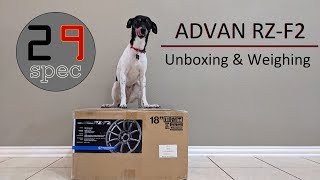 Yokohama Advan RZ-F2 | Unboxing & Weighing