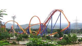 fastest roller coaster nitro ride video at adlabs imagica mumbai india 2015