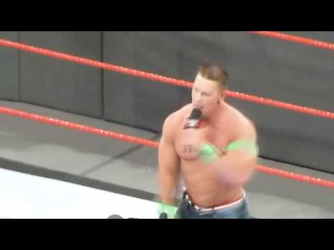 John Cena sings Philadelphia Eagles Fight song