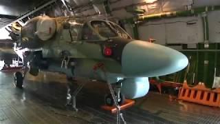 Возвращение двух боевых вертолетов Ка-52 из Сирии в Россию