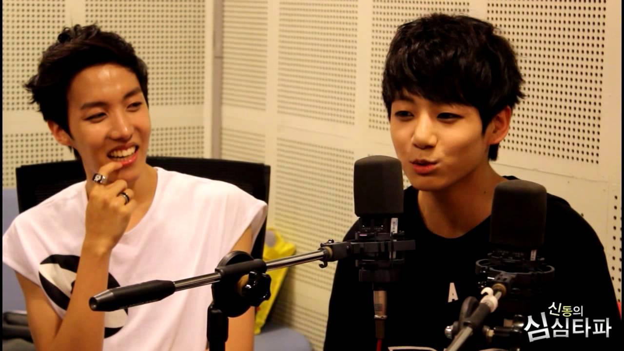 신동의 심심타파 - BTS individual, 방탄소년단 개인기 20130625