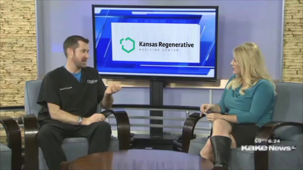 Dr. Andrew Pope - LIVE Interview on Good Morning Kansas, KAKE TV