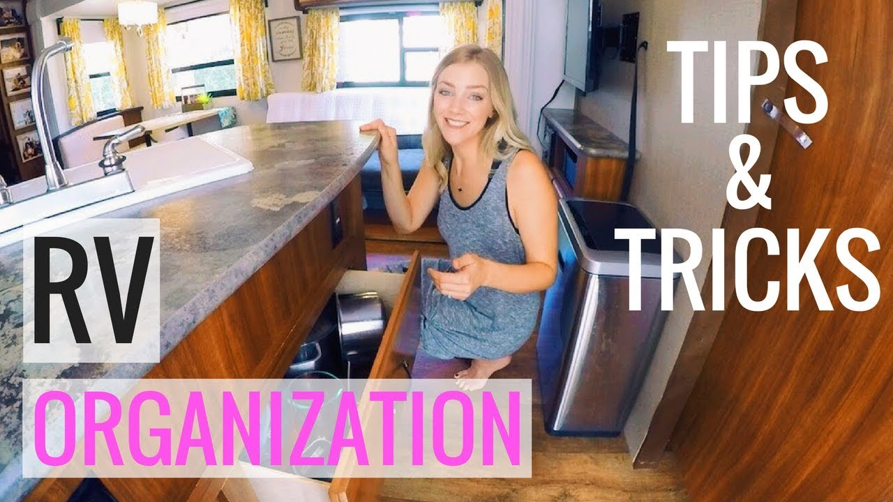 How To Organize Your Rv Kitchen Amp Main Living Area Full
