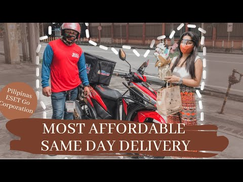 THE MOST AFFORDABLE SAME DAY DELIVERY IN METRO MANILA | PILIPINAS ESETGO CORPORATION by Jem Paguio