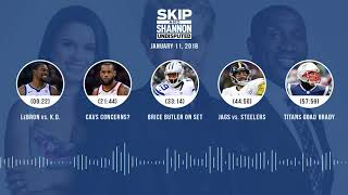 UNDISPUTED Audio Podcast (1.11.18) with Skip Bayless, Shannon Sharpe, Joy Taylor | UNDISPUTED