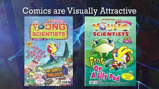 Young scientists science comics - Now in India